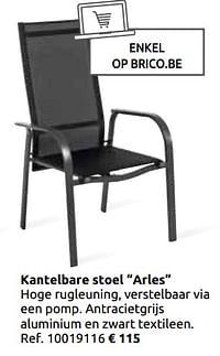 Kantelbare stoel arles-Huismerk - Brico