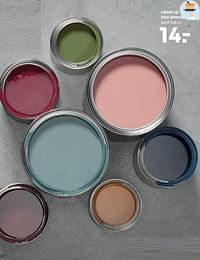 Lakverf op kleur gemengd-Huismerk - Kwantum