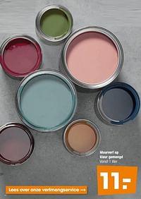 Muurverf op kleur gemengd-Huismerk - Kwantum