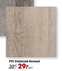 Pvc clickstrook harwood-Huismerk - Kwantum