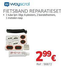 Fietsband reparatieset-Wayscrall
