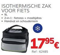Isothermische zak voor fiets-Norauto