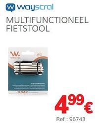 Multifunctioneel fietstool-Wayscrall