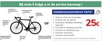 Onderhoudsforfait fiets-Huismerk - Auto 5