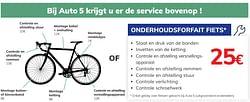 Onderhoudsforfait fiets