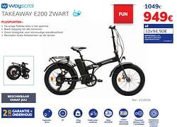 Takeaway e200 zwart