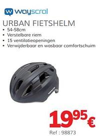 Urban fietshelm-Wayscrall