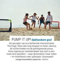Airkage pump ng500 s, kipsta-Kipsta