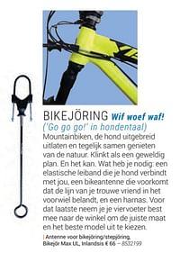 Antenne voor bikejoring-stepjoring, bikejbr max ul. inlandsis-Inlandsis