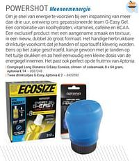 Energiegel long distance g-easy ecosize, citroen- of colasmaak-Huismerk - Decathlon