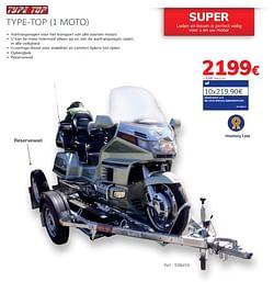 Type-top 1 moto