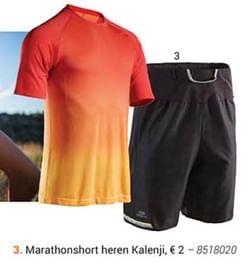 Marathonshort heren kalenji