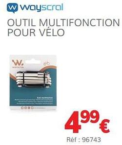 Outil multifonction pour vélo