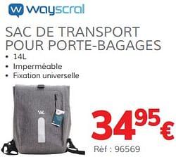 Sac de transport pour porte-bagages