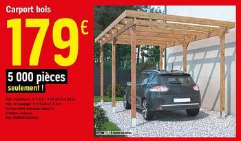Promotion Brico Depot Carport Bois Produit Maison Brico Depot Jardin Et Fleurs Valide Jusqua 4 Promobutler