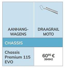 Draagrail moto