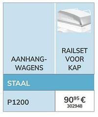 Railset voor kap-1ste prijs