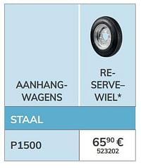 Reserve wiel-1ste prijs