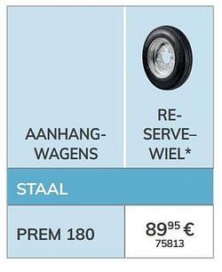 Reserve wiel