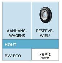 Reservewiel-BW Trailers
