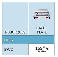Bâche plate bw2