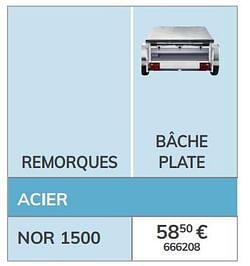 Bâche plate nor 1500