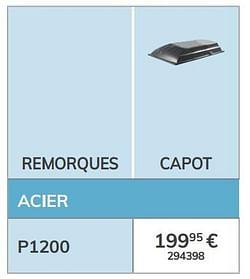 Capot p1200