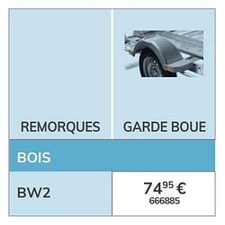 Garde boue bw2