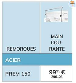 Main courante prem 150