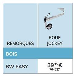 Roue jockey bw easy