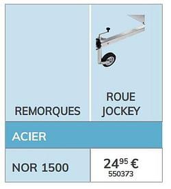 Roue jockey nor 1500