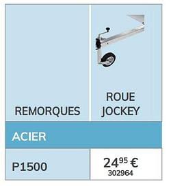 Roue jockey p1200