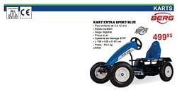 Kart extra sport blue