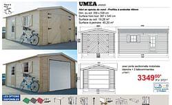 Garages en bois umea