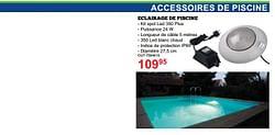 Accessoires de piscine eclairage de piscine