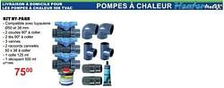 Pompes à chaleur kit by-pass