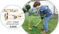 Croquet-Huismerk - De Speelvogel