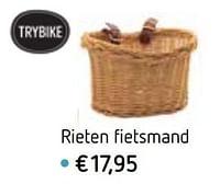 Rieten fietsmand-Trybike
