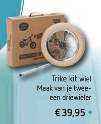 Trike kit wiel maak van je twee een driewieler-Huismerk - De Speelvogel