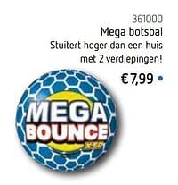 Mega botsbal-Huismerk - De Speelvogel