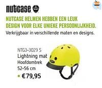 Nutcase helmen lightning mat-Nutcase