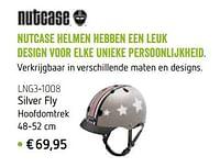 Nutcase helmen silver fly-Nutcase