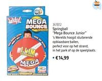 Springball mega bounce junior-Wicked