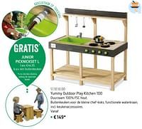 Yummy outdoor play kitchen 100-Exit