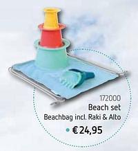 Beach set-Huismerk - De Speelvogel