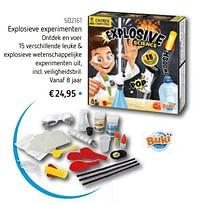 Explosieve experimenten-Buki France