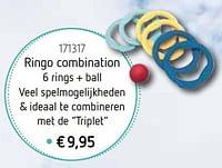 Ringo combination 6 rings + ball-Huismerk - De Speelvogel