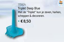 Triplet deep blue