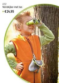 Verrekijker met tas-Huismerk - De Speelvogel