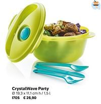 Crystalwave party-Huismerk - Tupperware